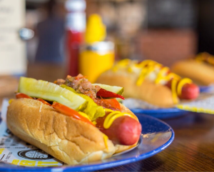 5 Boroughs | New Hot Dog Menu | Bring a friend for free