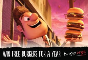 WIN A BURGER A WEEK FOR A WHOLE YEAR | Burger Urge